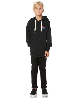 BLACK KIDS BOYS SWELL JUMPERS + JACKETS - S3204440BLACK
