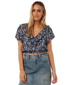 DARK SLATE OUTLET WOMENS BILLABONG FASHION TOPS - 6572093SLA