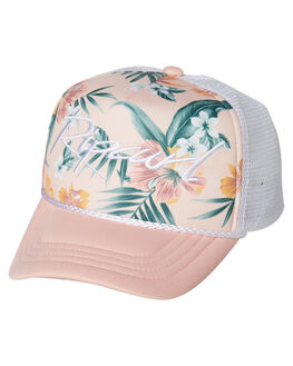 LIGHT PINK KIDS GIRLS RIP CURL HEADWEAR - FCABF11764