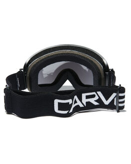 MATT BLACK GREY BOARDSPORTS SNOW CARVE GOGGLES - 6006MBLKG