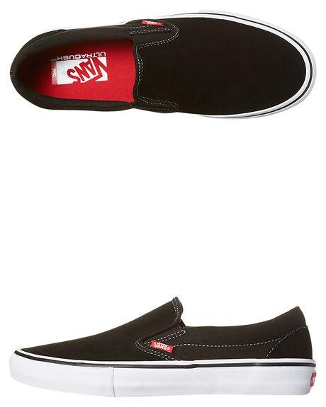 BLACK WHITE MENS FOOTWEAR VANS SKATE SHOES - VN-0097M9X1BKWH bbed0c262