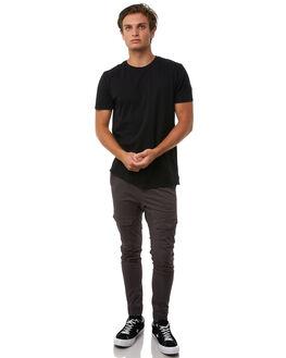 CHARCOAL MENS CLOTHING NENA AND PASADENA PANTS - NPMFP001CHAR