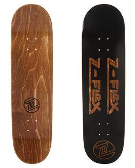 BLACK SKATE DECKS Z FLEX  - ZFX1004BLK1