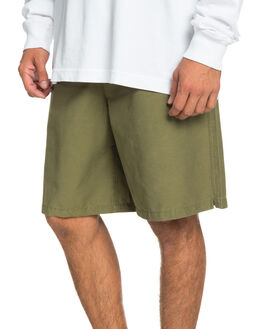 BURNT OLIVE MENS CLOTHING QUIKSILVER SHORTS - EQYWS03661-GPZ0