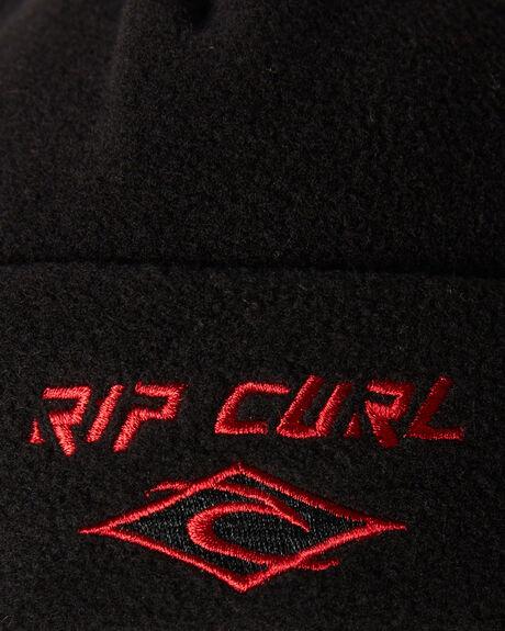 BLACK MENS ACCESSORIES RIP CURL HEADWEAR - CBNDV10090