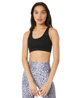 BLACK WOMENS CLOTHING LORNA JANE ACTIVEWEAR - WS1019200BLK