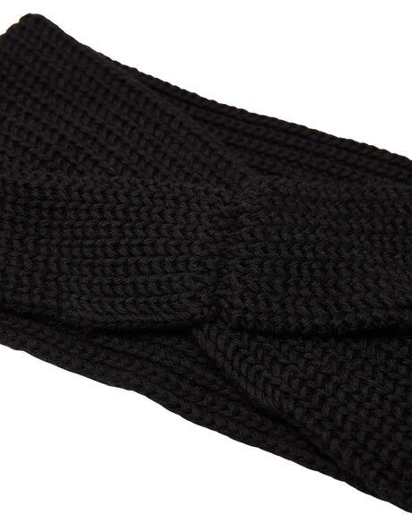 BLACK WOMENS ACCESSORIES RIP CURL HEADWEAR - GBNAF10090
