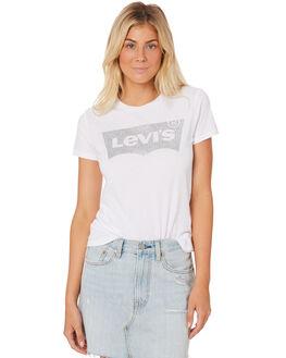 WHITE WOMENS CLOTHING LEVI'S TEES - 17369-0484WHT
