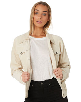 CREAM WOMENS CLOTHING THE HIDDEN WAY JACKETS - H8182382CREAM