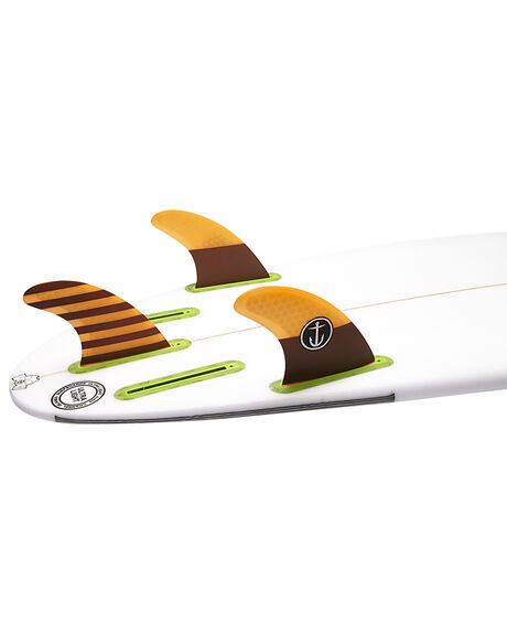 ORANGE BOARDSPORTS SURF CAPTAIN FIN CO. FINS - CFF2111505ORG