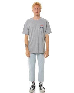GREY MARLE MENS CLOTHING HUFFER TEES - MTE81S220-574GRYM