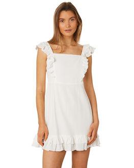 WHITE OUTLET WOMENS RUE STIIC DRESSES - SA19-18-W1