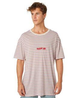 WHITE MENS CLOTHING STUSSY TEES - ST083105WHT