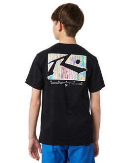 BLACK KIDS BOYS RUSTY TOPS - TTB0600BLK