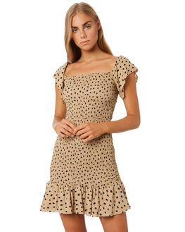 PIERRE PRINT WOMENS CLOTHING MLM LABEL DRESSES - MLM606IPRINT