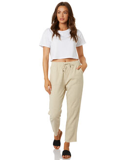 LIGHT FENNEL WOMENS CLOTHING RUSTY PANTS - PAL0994LFN