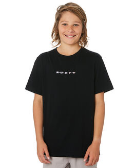 BLACK KIDS BOYS RUSTY TOPS - TTB0631BLK