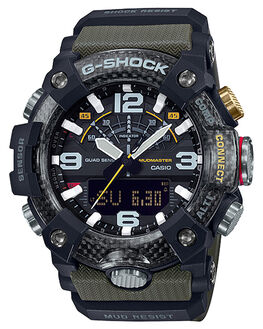 GREEN BLACK MENS ACCESSORIES G SHOCK WATCHES - GGB100-1A3GRNB