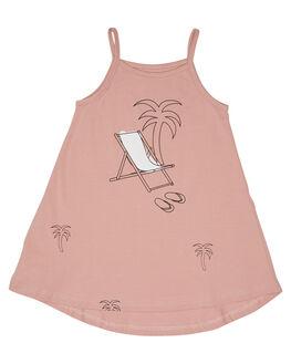 PINK KIDS GIRLS TINY TRIBE DRESSES + PLAYSUITS - TTGS19-5013APNK