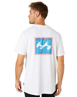 WHITE MENS CLOTHING BILLABONG TEES - 9595013WHT
