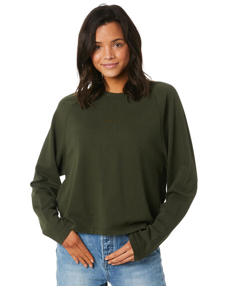 FOREST WOMENS CLOTHING RVCA JUMPERS - R293163FOR