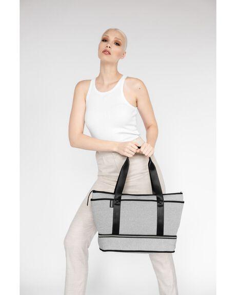 LIGHT GREY MARLE WOMENS ACCESSORIES PRENE BAGS BAGS + BACKPACKS - SUN-BAG-GRE