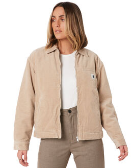 WALL RINSED WOMENS CLOTHING CARHARTT JACKETS - I027388G102