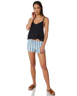 BLACK WOMENS CLOTHING ALL ABOUT EVE FASHION TOPS - 6423039BLK