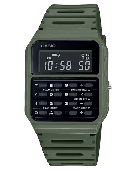 KHAKI MENS ACCESSORIES CASIO WATCHES - CA53WF-3KHA