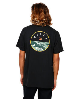 BLACK MENS CLOTHING BILLABONG TEES - BB-9591031-BLK