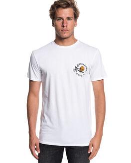 WHITE MENS CLOTHING QUIKSILVER TEES - EQYZT05179WBB0
