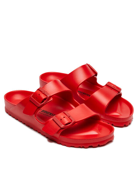 ACTIVE RED WOMENS FOOTWEAR BIRKENSTOCK FASHION SANDALS - 1017996ARED