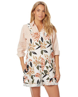 PRINT WOMENS CLOTHING ZULU AND ZEPHYR PLAYSUITS + OVERALLS - ZZ1373PRN
