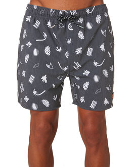 BLACK MENS CLOTHING RIP CURL BOARDSHORTS - CBOBS90090