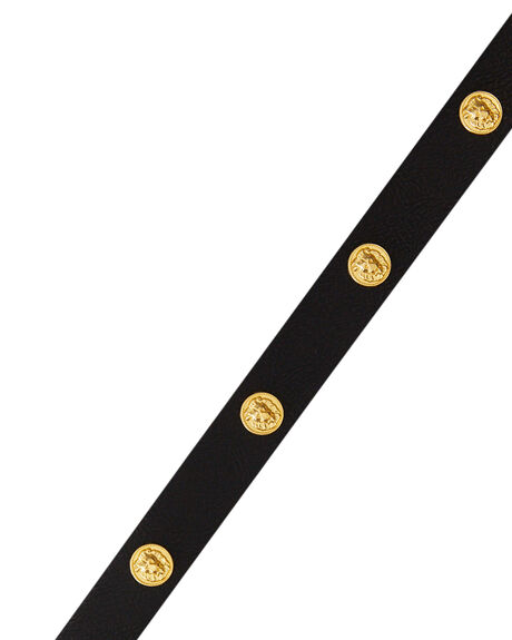 BLACK WOMENS ACCESSORIES RUSTY BELTS - BEL0413BLK
