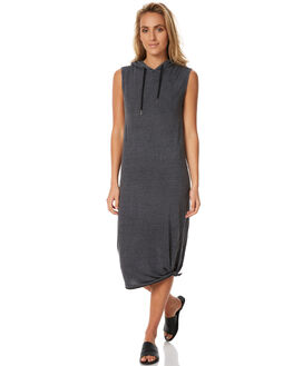 BLACK WOMENS CLOTHING SILENT THEORY DRESSES - 6008014BLK