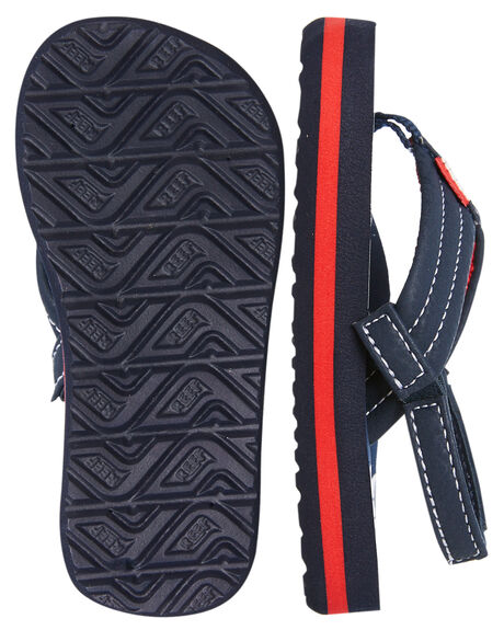 ANCHORS KIDS BOYS REEF FOOTWEAR - 2345ANC