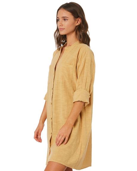MUSTARD WOMENS CLOTHING RIP CURL DRESSES - GDRHV11041