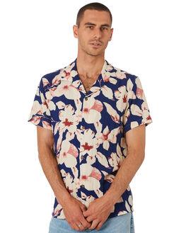 INDIGO MENS CLOTHING RHYTHM SHIRTS - QTM19M-WT12-IND