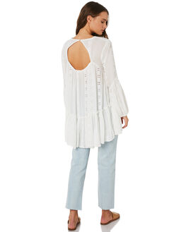 IVORY WOMENS CLOTHING FREE PEOPLE FASHION TOPS - OB9201191103