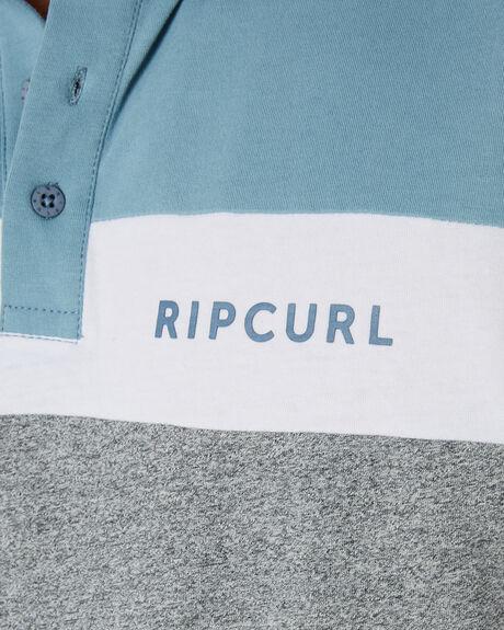 BLUE GREY MENS CLOTHING RIP CURL SHIRTS - CPLCQ11005
