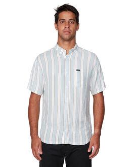 WHITE MENS CLOTHING RVCA SHIRTS - RV-R192185-WHT