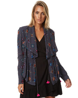 CHARCOAL WOMENS CLOTHING TIGERLILY JACKETS - T373249CHAR