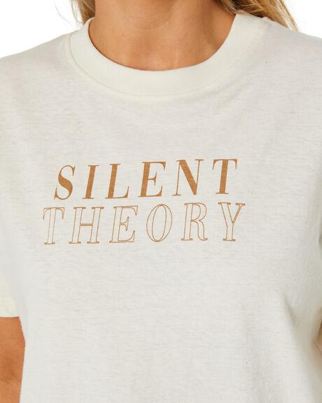 NATURAL WOMENS CLOTHING SILENT THEORY TEES - 6074003NAT