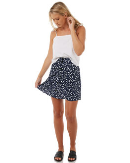 BLUE WOMENS CLOTHING MINKPINK SKIRTS - MP1710438BLUE