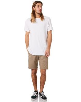 KHAKI MENS CLOTHING VOLCOM SHORTS - A0931602KHA