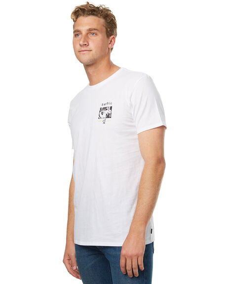 WHITE MENS CLOTHING SWELL TEES - S5174011WHT