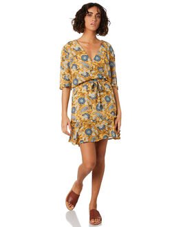 CITRON WOMENS CLOTHING THE HIDDEN WAY DRESSES - H8201446CITRN