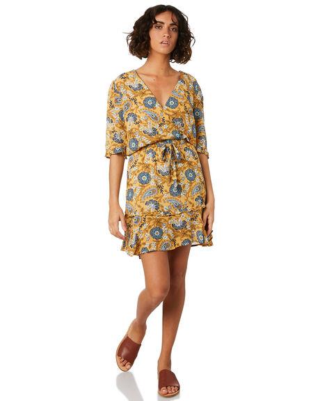 CITRON OUTLET WOMENS THE HIDDEN WAY DRESSES - H8201446CITRN