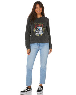 WASHED BLACK WOMENS CLOTHING ALL ABOUT EVE JUMPERS - 6456169WBLK